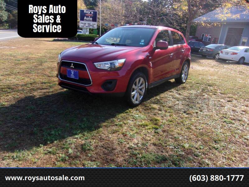 2013 Mitsubishi Outlander Sport for sale at Roys Auto Sales & Service in Hudson NH