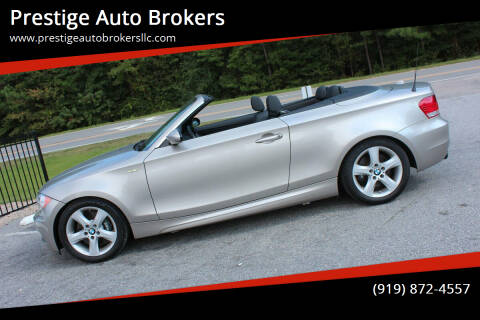 2009 BMW 1 Series for sale at Prestige Auto Brokers in Raleigh NC