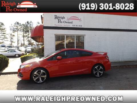 2015 Honda Civic for sale at Raleigh Pre-Owned in Raleigh NC