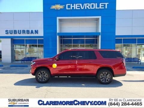 2021 Chevrolet Suburban for sale at Suburban Chevrolet in Claremore OK