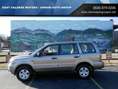 2007 Honda Pilot for sale at EAST VALDESE MOTORS / VINSON AUTO GROUP in Valdese NC