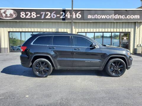 2013 Jeep Grand Cherokee for sale at AutoWorld of Lenoir in Lenoir NC