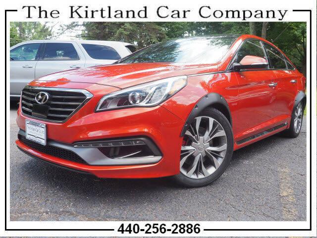 2015 Hyundai Sonata for sale at Kirtland Car Company in Kirtland OH
