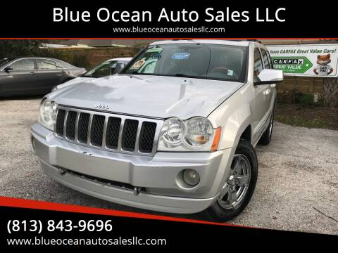 2006 Jeep Grand Cherokee for sale at Blue Ocean Auto Sales LLC in Tampa FL