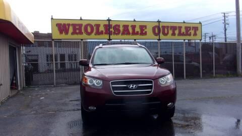 2007 Hyundai Santa Fe for sale at LONG BROTHERS CAR COMPANY in Cleveland OH
