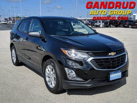 2019 Chevrolet Equinox for sale at Gandrud Dodge in Green Bay WI