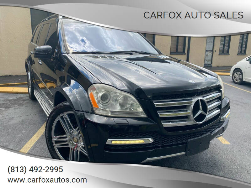 2011 Mercedes-Benz GL-Class for sale at Carfox Auto Sales in Tampa FL