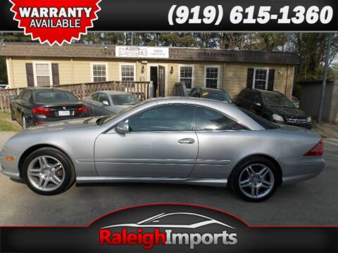 2006 Mercedes-Benz CL-Class for sale at Raleigh Imports in Raleigh NC