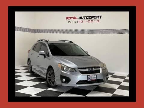 2012 Subaru Impreza for sale at Royal AutoSport in Sacramento CA