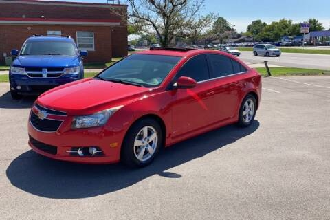 2014 Chevrolet Cruze for sale at Memphis Finest Auto, LLC in Memphis TN