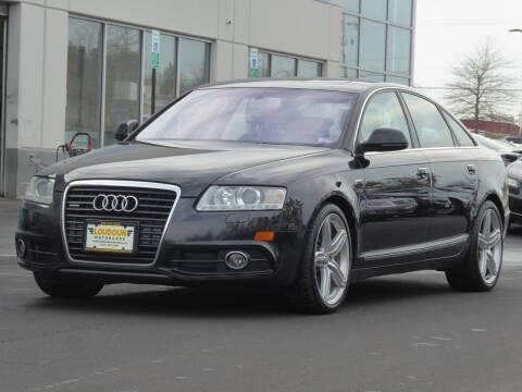 2011 Audi A6 for sale at Loudoun Used Cars - LOUDOUN MOTOR CARS in Chantilly VA