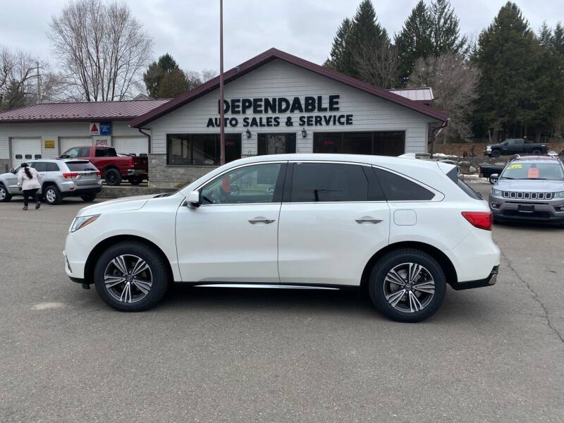 2018 Acura MDX for sale at Dependable Auto Sales and Service in Binghamton NY