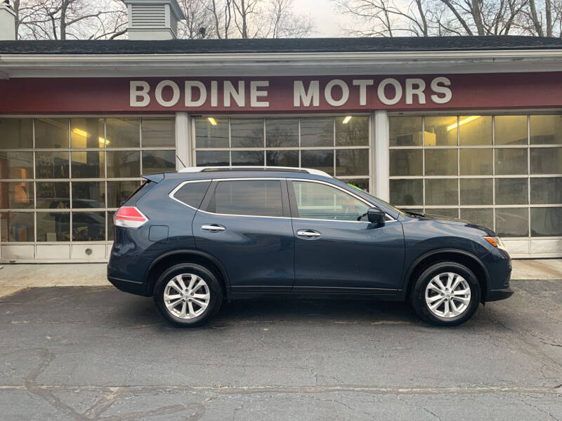 2016 Nissan Rogue for sale at BODINE MOTORS in Waverly NY