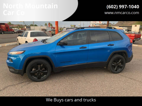 2017 Jeep Cherokee for sale at North Mountain Car Co in Phoenix AZ