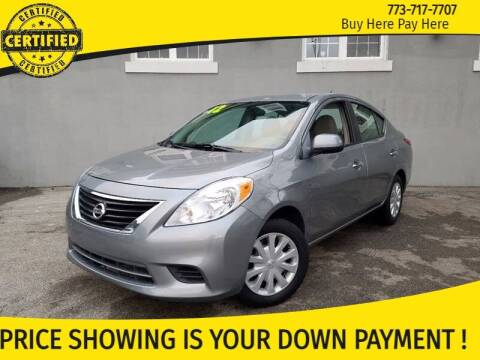 2012 Nissan Versa for sale at AutoBank in Chicago IL