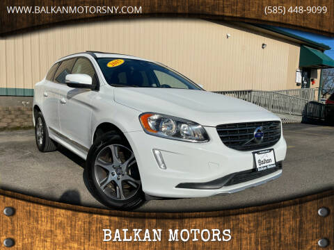 2015 Volvo XC60 for sale at BALKAN MOTORS in East Rochester NY