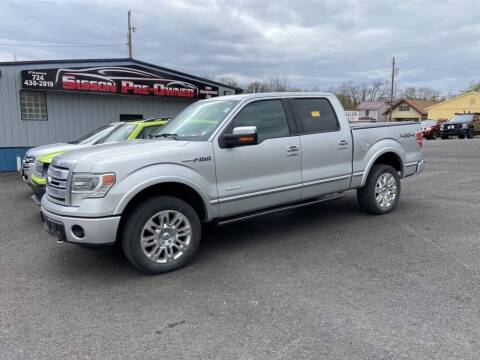 2013 Ford F-150 for sale at Sisson Pre-Owned in Uniontown PA
