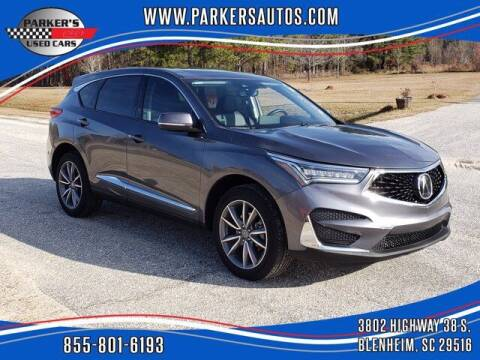 2019 Acura RDX for sale at Parker's Used Cars in Blenheim SC