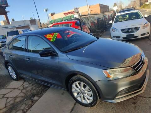 2015 Volkswagen Jetta for sale at Sanaa Auto Sales LLC in Denver CO