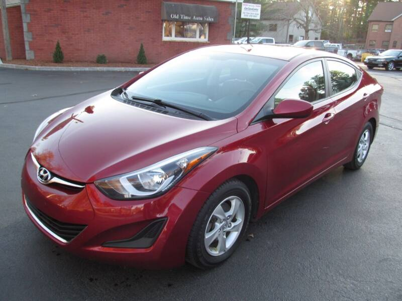 2015 Hyundai Elantra for sale at Old Time Auto Sales, Inc in Milford MA