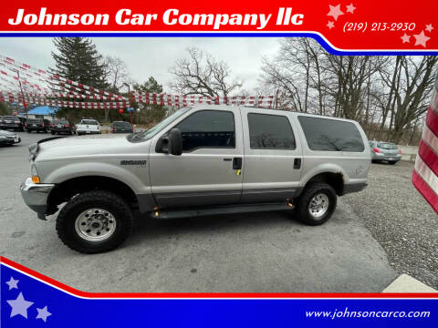 2003 Ford Excursion for sale at Johnson Car Company llc in Crown Point IN
