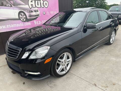2013 Mercedes-Benz E-Class for sale at Euro Auto in Overland Park KS