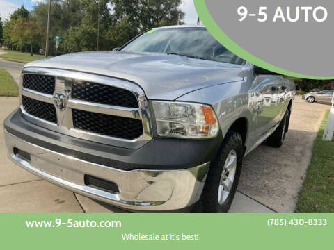 2016 RAM Ram Pickup 1500 for sale at 9-5 AUTO in Topeka KS