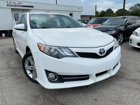 2013 Toyota Camry for sale at KAYALAR MOTORS in Houston TX