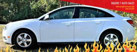 2014 Chevrolet Cruze for sale at Square 1 Auto Sales in Commerce GA