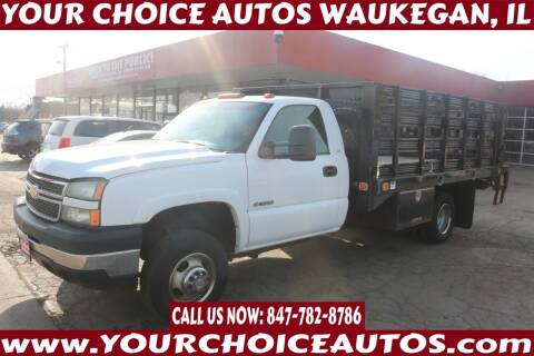2006 Chevrolet Silverado 3500 for sale at Your Choice Autos - Waukegan in Waukegan IL