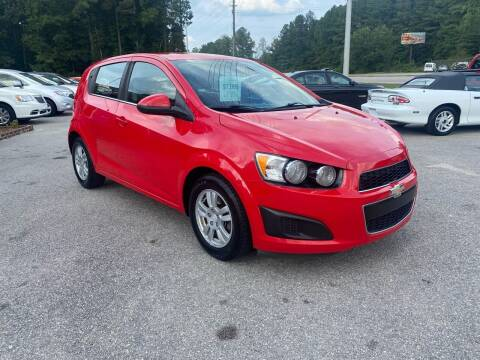 2015 Chevrolet Sonic for sale at Galaxy Auto Sale in Fuquay Varina NC