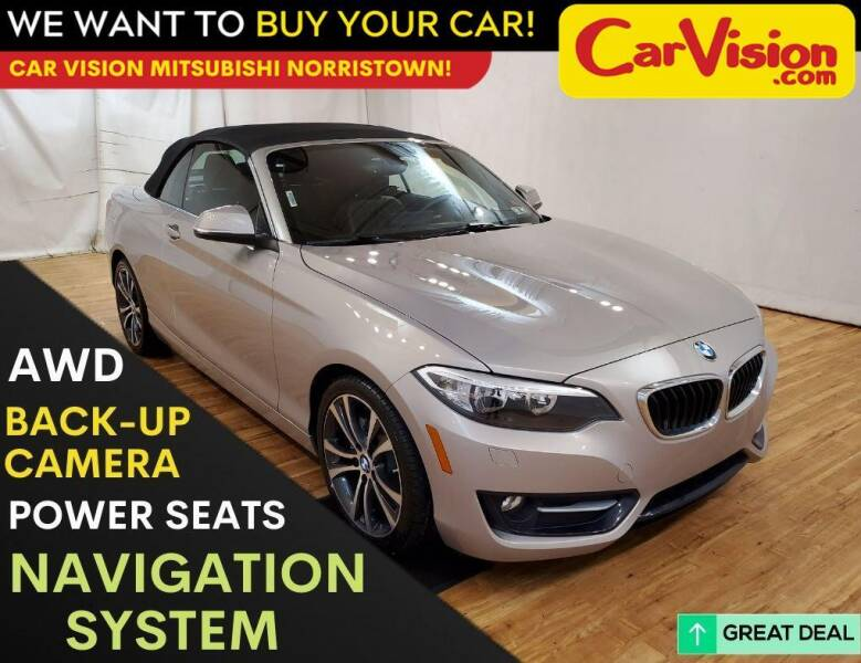2017 BMW 2 Series for sale at Car Vision Mitsubishi Norristown in Trooper PA