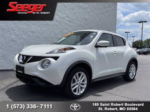 2016 Nissan JUKE for sale at SEEGER TOYOTA OF ST ROBERT in St Robert MO