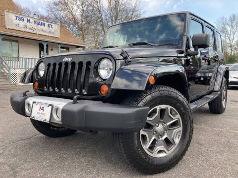 2010 Jeep Wrangler Unlimited for sale at Mega Motors in West Bridgewater MA
