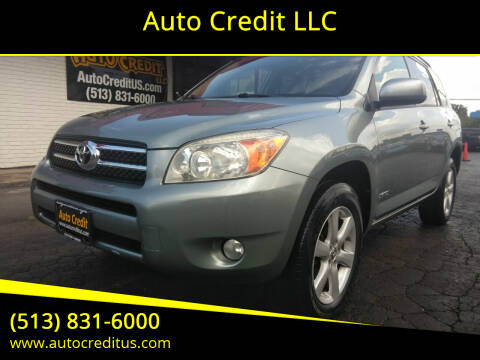 2006 Toyota RAV4 for sale at Auto Credit LLC in Milford OH