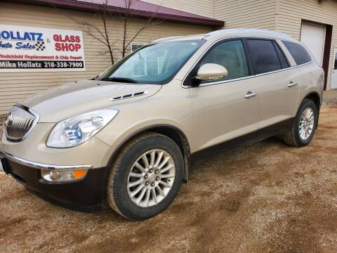 2011 Buick Enclave for sale at Hollatz Auto Sales in Parkers Prairie MN