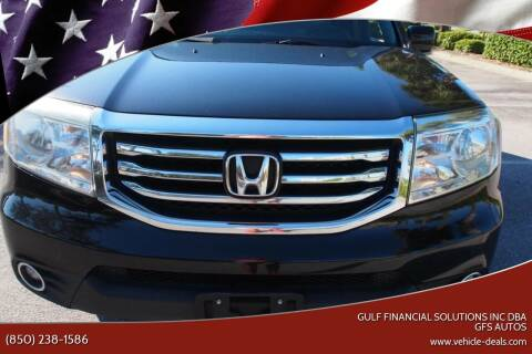 2015 Honda Pilot for sale at Gulf Financial Solutions Inc DBA GFS Autos in Panama City Beach FL