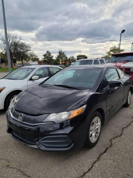2014 Honda Civic for sale at J & J Used Cars inc in Wayne MI