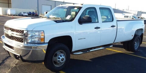 2012 Chevrolet Silverado 3500HD for sale at CENTURY TRUCKS & VANS in Grand Prairie TX