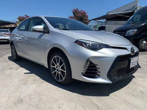 2017 Toyota Corolla for sale at Best Buy Quality Cars in Bellflower CA