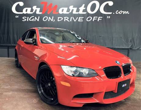 2008 BMW M3 for sale at CarMart OC in Costa Mesa, Orange County CA