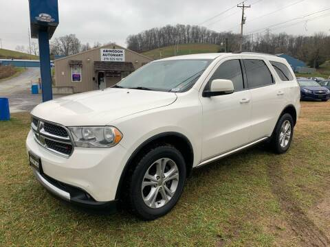2012 Dodge Durango for sale at ABINGDON AUTOMART LLC in Abingdon VA
