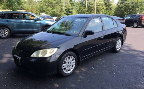 2004 Honda Civic for sale at Delafield Motors in Glenville NY
