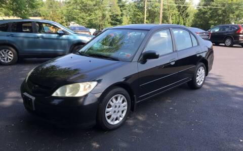 2004 Honda Civic for sale at Delafield Motors in Glenville NY