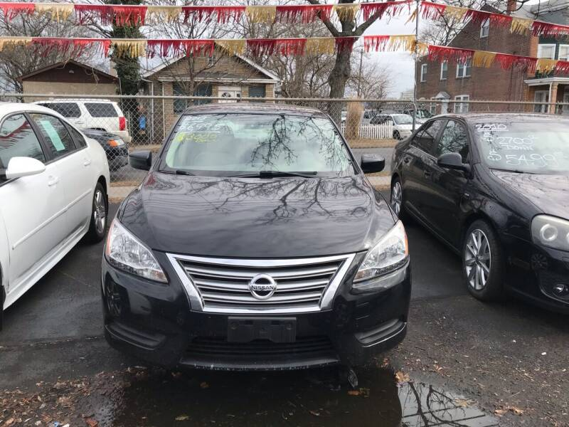 2013 Nissan Sentra for sale at Chambers Auto Sales LLC in Trenton NJ