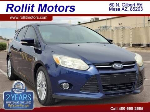 2012 Ford Focus for sale at Rollit Motors in Mesa AZ