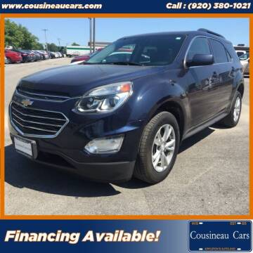 2017 Chevrolet Equinox for sale at CousineauCars.com in Appleton WI