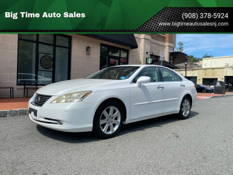 2009 Lexus ES 350 for sale at Big Time Auto Sales in Vauxhall NJ