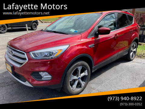 2017 Ford Escape for sale at Lafayette Motors in Lafayette NJ