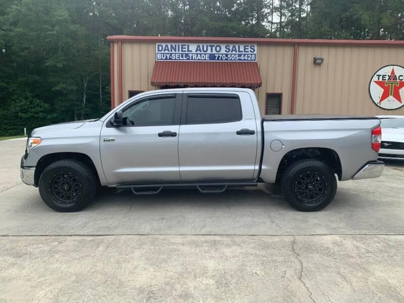 2017 Toyota Tundra for sale at Daniel Used Auto Sales in Dallas GA